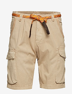 Classic washed cargo short - casual shorts - sand