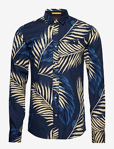 REGULAR FIT- Shirt with sleeve collectors and fixed pochet - COMBO D