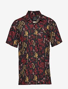 HAWAIIAN FIT - Signature Hawaiian shirt - krótki rękaw - combo a