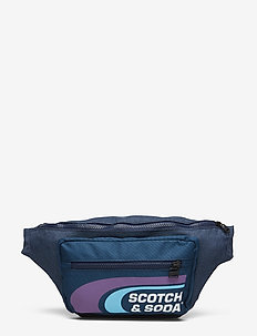 Oxford nylon belt bag with logo print - COMBO A