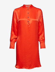Shirt dress in viscose quality - TOMATO