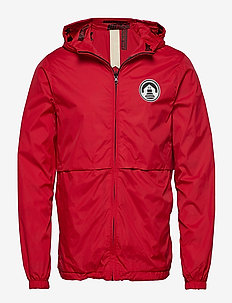 Reversible jacket - windjassen - lifeguard red