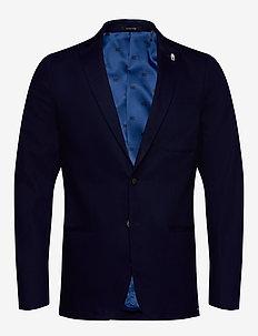 Clean indigo blazer - INDIGO