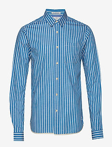 Regular fit deck chair stripe shirt - COMBO A