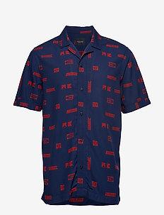 Short sleeve shirt with prints - krótki rękaw - combo c