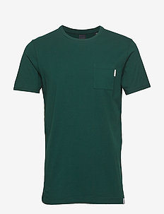 Ams Blauw pocket tee in seasonal colours - GREEN DREAM