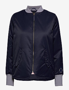 Easy straight fit bomber - bomber jakker - navy