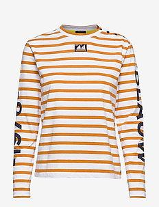 Breton long sleeve tee with high neck - COMBO C