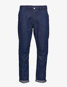 Tailored denim chino - regular jeans - blauw crew