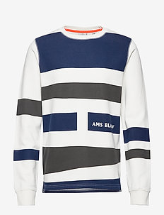 Ams Blauw graphic sweat - COMBO A