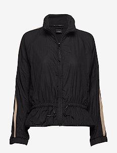 Club Nomade lightweight wind jacket - BLACK