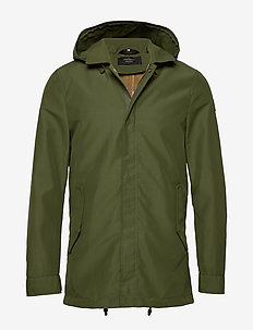 Classic bonded parka with inner bodywarmer - parkas - military