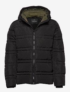Classic hooded PrimaLoft jacket - vestes matelassées - black