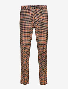 SEASONAL FIT- Chic gentlemans chino in yarn-dyed pattern - suitbukser - combo b