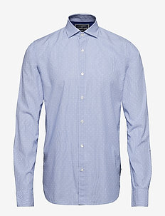 REGULAR FIT- Classic dress shirt in blue - chemises d'affaires - combo d