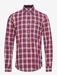 REGULAR FIT- Multicolour check shirt - geruite overhemden - combo b