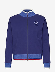 Sporty jacket in sweat quality - COMBO A