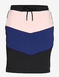 Colorblock sweat skirt - COMBO B