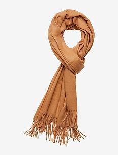Classic wool scarf - CAMEL