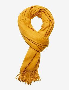 Classic wool scarf - OCHRE