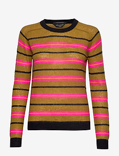 Colourful striped pullover - COMBO B