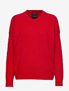 Crewneck knit - PARIS RED