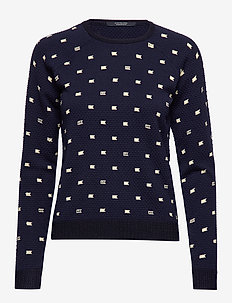 Long sleeve pull in various allover print - COMBO A