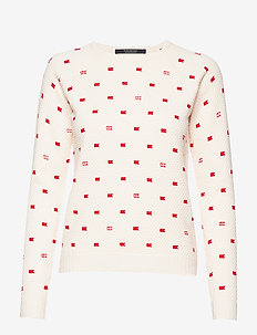 Long sleeve pull in various allover print - COMBO B