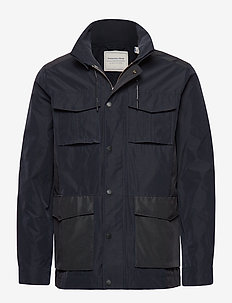 4 pocket military jacket - windjassen - midnight