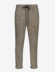 Houndstooth pant with pintuck - COMBO A