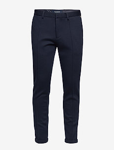 Ams Blauw chic sweat pant with pintuck - NAVY