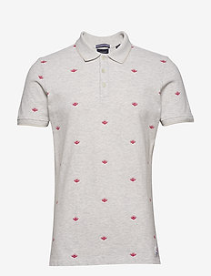 Allover printed polo - COMBO A