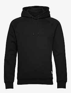 Club Nomade double neck hoody - BLACK