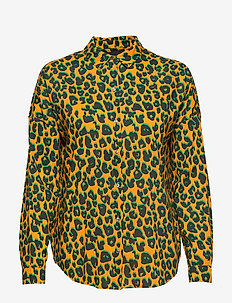 Printed cotton viscose shirt - COMBO L
