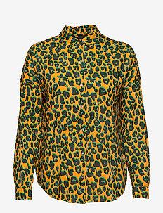 Printed cotton viscose shirt - COMBO L