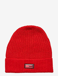Colourful beanie - MARS RED