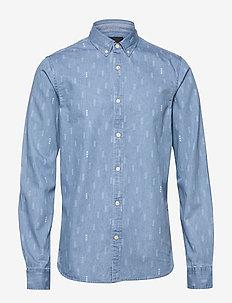 AB regular fit AOP shirt with seasonal artworks - casual - combo e