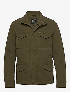 Classic garment-dyed field jacket - MILITARY