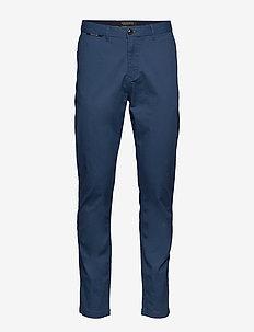 STUART- Classic chino - worker blue