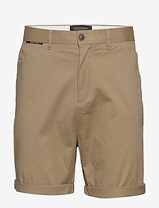 Mid length - Classic chino short in pima cotton quality - chino's shorts - sand