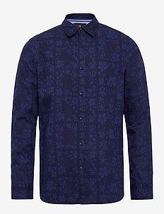 REGULAR FIT- Classic all-over printed poplin shirt - casual - combo b