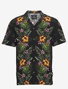 HAWAII FIT-  Shorstleeve shirt with Hawaiian flower print - krótki rękaw - combo a