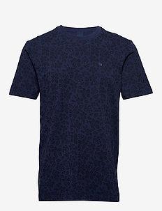 Classic cotton/elastane crewneck tee - kortermede t-skjorter - combo g