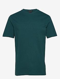 Classic pique crewneck tee - podstawowe koszulki - deep sea green