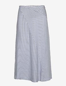 Midi length skirt in bias cut - midi kjolar - combo s