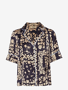 Printed 'Hawaiian' short sleeve shirt - COMBO C