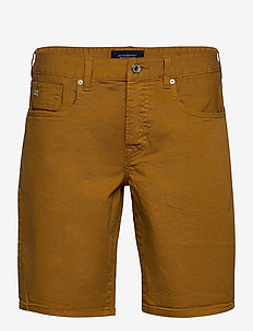Ralston Short - Garment dyed colours - farkkushortsit - tobacco