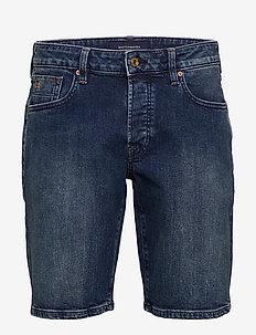 Ralston Short - Blazing Sky - jeans shorts - blazing sky