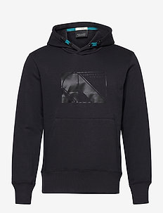 Club Nomade sweat hoody with kangaroo pockets - hoodies - midnight