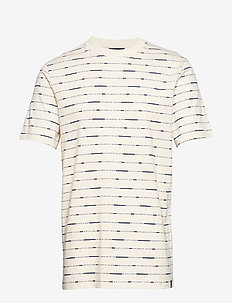 Short sleeve tee with allover print - krótki rękaw - combo b